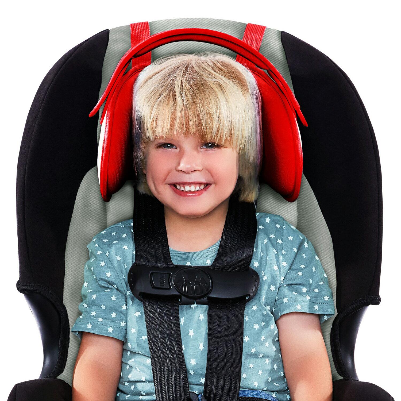 ★酷貝比總代理 以色列NapUp不倒翁護頸頭枕 / 汽座 / 兒童頭部固定帶 / 汽車安全座椅頭部固定帶 4