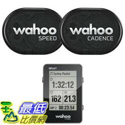 [106美國直購] 感應組 Wahoo RPM Sensor Phone Android Bike Computers(Speed and Cadence sensor with Bike Computer)