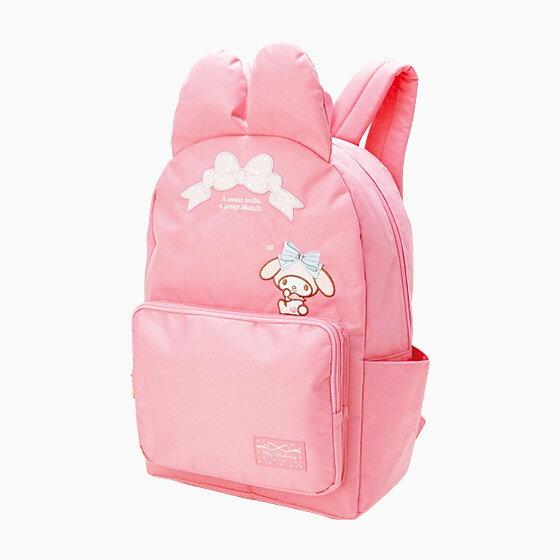 【真愛日本】 17053100015 造型時尚後背包-MM點結粉+AAQ 三麗鷗 Melody 美樂蒂 背包 包包 預