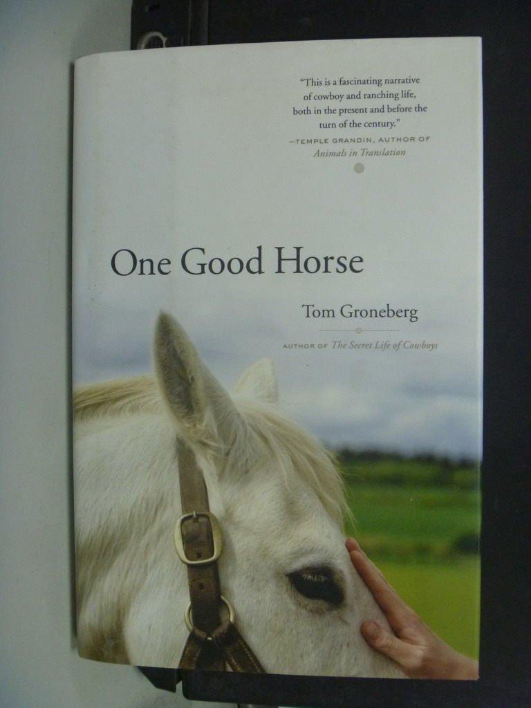~書寶 書T3/寵物_NSR~One Good Horse_Groneberg Tom