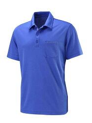【【蘋果戶外】】荒野 W1622-52 海藍色 WildLand 男 疏水紗素色短袖POLO衫 吸濕排汗 運動上衣 休閒 運動 快乾透氣 輕薄舒適 大尺碼