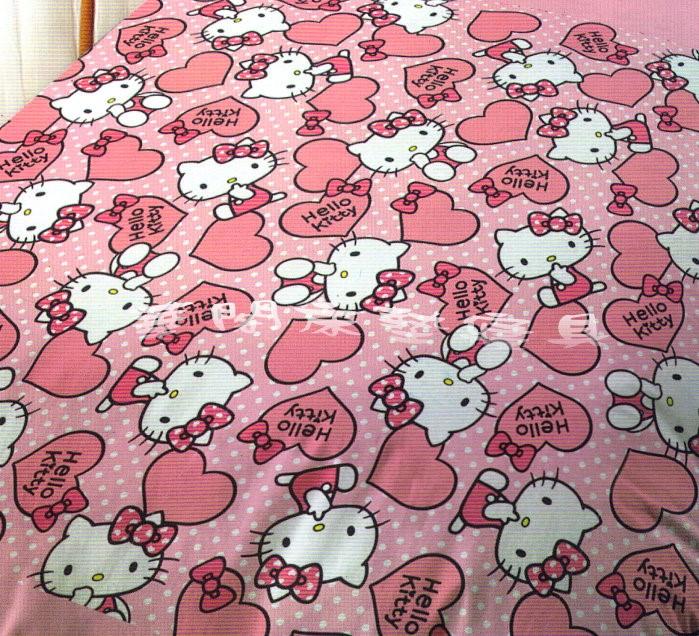 *華閣床墊寢具*《HELLO KITTY-粉紅佳人》雙人兩用被套  台灣三麗鷗授權 MIT