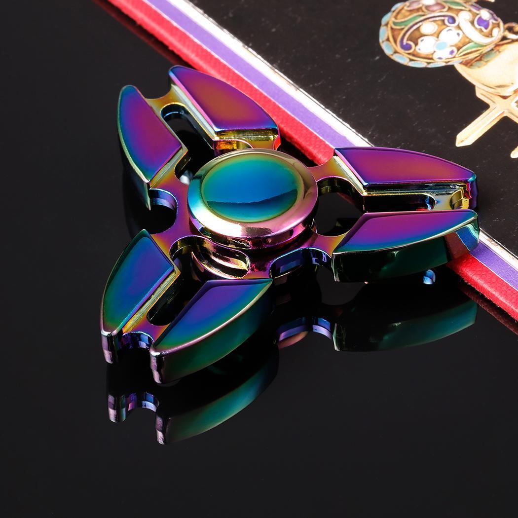 Hand Spinner 360 Fidget Desk Stress Reducer EDC Focus Toy 0