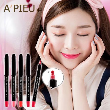 韓國 A'PIEU 點珠唇彩筆 1.1g 唇彩 唇彩筆 馬克筆 A pieu APIEU 奧普【B062009】