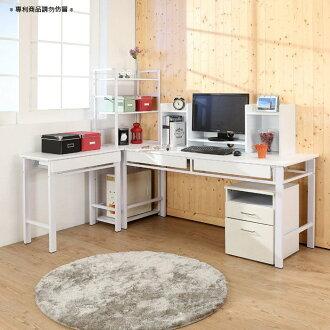 160超穩固防潑水L型電腦桌(五件組)工作桌 電腦桌 書桌【馥葉】【型號S162】可加購玻璃