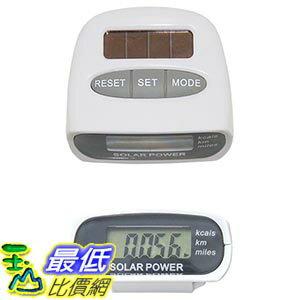 美國直購  Sun Ecolinq Solar Pedometer 太陽能 計步器 _T
