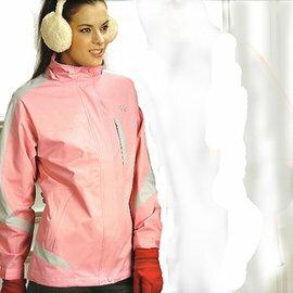 日本名牌Kawasaki女版功能性二件式休閒薄裡外套(淺粉)#KW252A - 限時優惠好康折扣