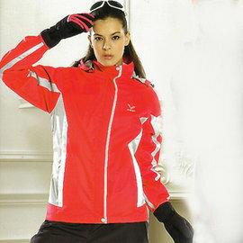 日本名牌Kawasaki女版功能性二件式休閒外套(桃紅)#KW251A - 限時優惠好康折扣