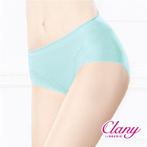 【可蘭霓Clany】健康抑菌竹炭中腰M-XL無痕內褲 理智藍 2156-55 5