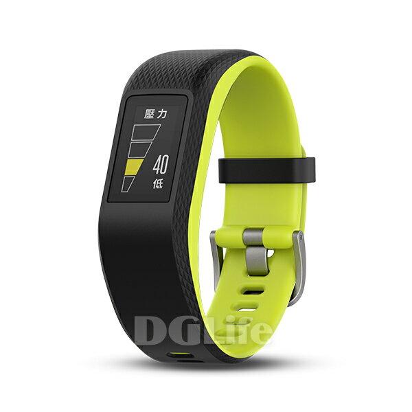 GARMINGPS心率智慧錶Vivosport(萊姆綠)大