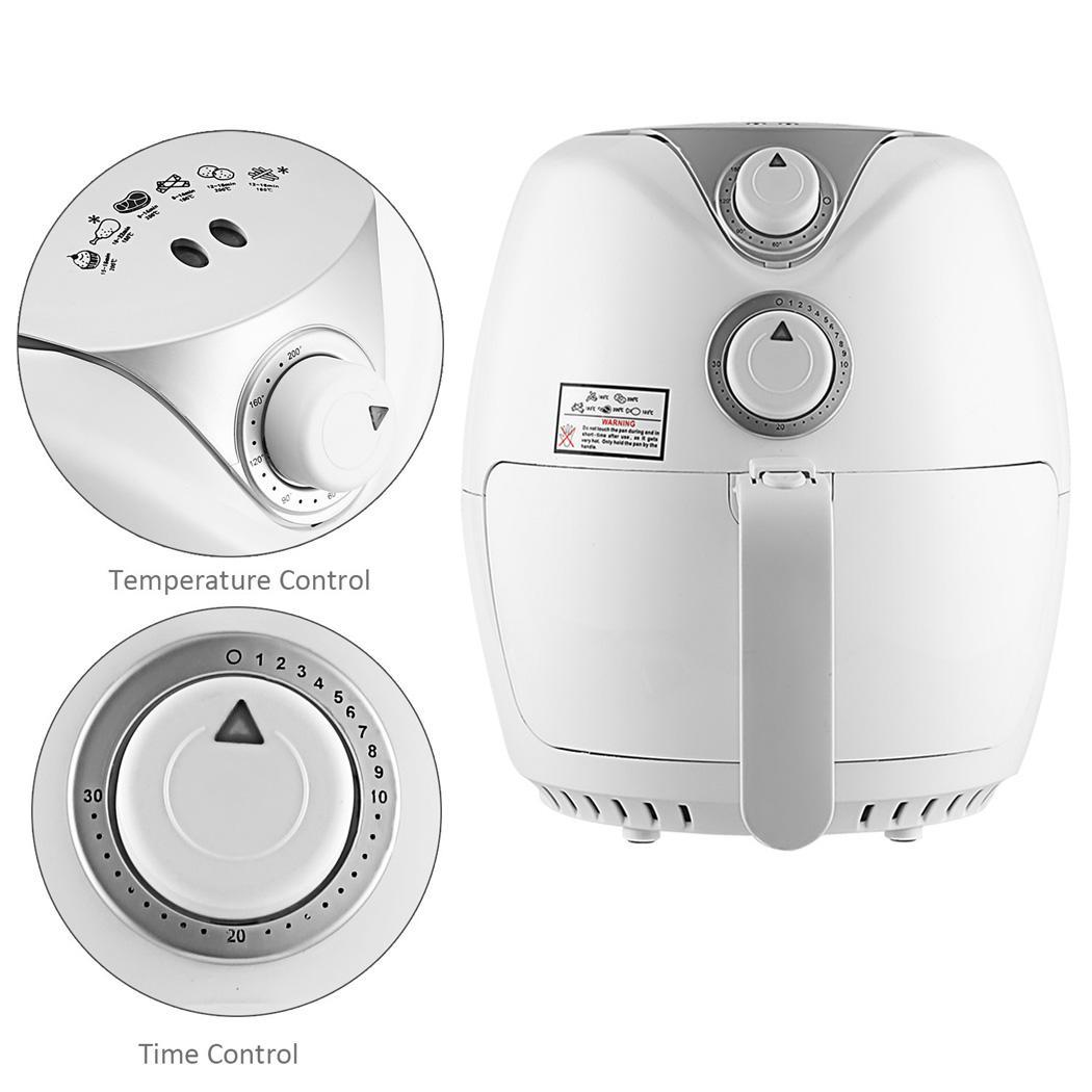 Electric Air Fryer 1300W with Rapid Air Circulation Temperature Control Timer 3
