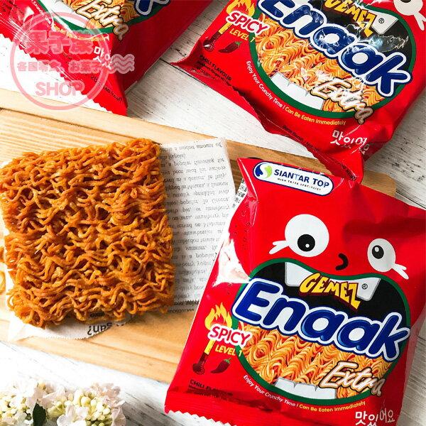 Big版Enaak小雞麵(3小包入袋裝)辣味點心脆麵[IN031]