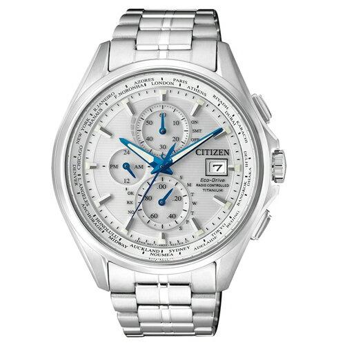 CITIZEN 星辰錶 AT8130-56A 鈦金屬電波錶