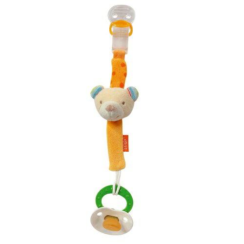 babyFEHN 芬恩 - 香檳熊布偶奶嘴鍊 0