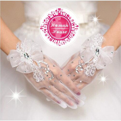 【新秘最愛!】新娘宴會舞台司儀主持表演手套-C款 [50806]◇美容美髮美甲新秘專業材料◇