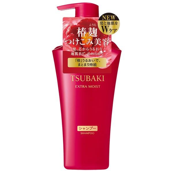 【毛躁髮適用】TSUBAKI思波綺極耀潤澤洗髮乳-500ml [48695]杏代言