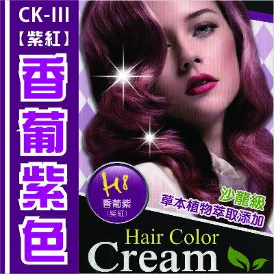 [沙龍級護髮染]CK III護髮染髮膏H8香葡紫 [49547]◇美容美髮美甲新秘專業材料◇