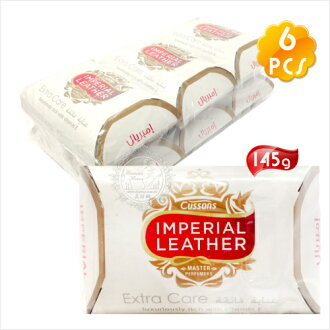 【超強潔淨力】Cussons IMPERIAL LEATHER帝王皂(125g)-6入(白色) [50959]