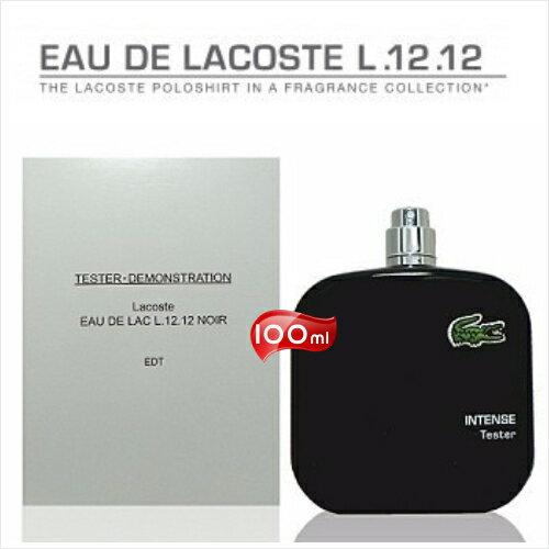 【產地英國】LACOSTE POLO衫(黑)男性淡香水-100ml(TEST包裝) [51743]草香清新調