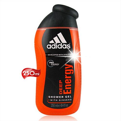 Adidas愛迪達男性沐浴精~250mL^(完美勁能^) ^~52193^~產地西班牙