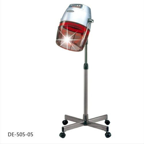 典億DE-505-05立式微電腦紅外線美髮機(銀)-單台 [23605]燙髮護髮烘乾
