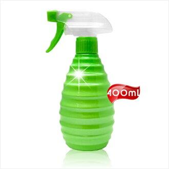 美髮沙龍噴式葫蘆型水槍塑膠空瓶-400mL(蘋果綠) [53071]