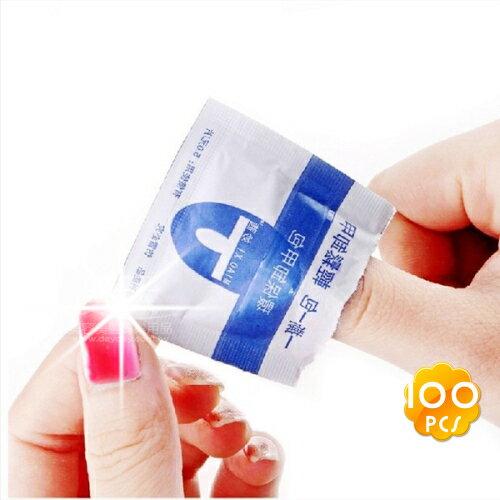 嘉奈兒UV卸除光撩凝膠指彩卸甲包(100片) [42533]自己卸最省錢!