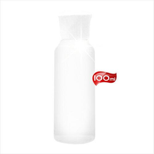 台灣製!E008白頭PP塑膠透明乳液空瓶-100mL [52821]旅行外出分裝