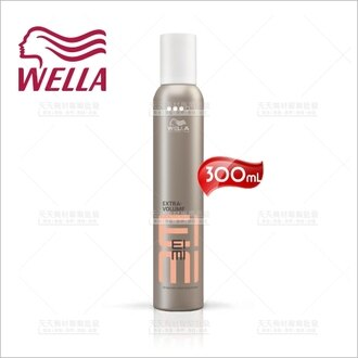 德國WELLA威娜彈力慕絲-300mL(豐盈定型)[52247] - 限時優惠好康折扣