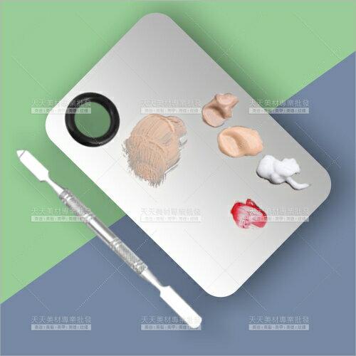 調色盤+攪拌棒(小組)美容彩妝指甲彩繪顏料凝膠[56674]