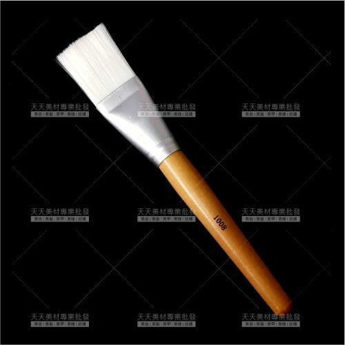 加大型木柄敷臉刷-單支(1008)美容師護膚軟膜面膜[95875]