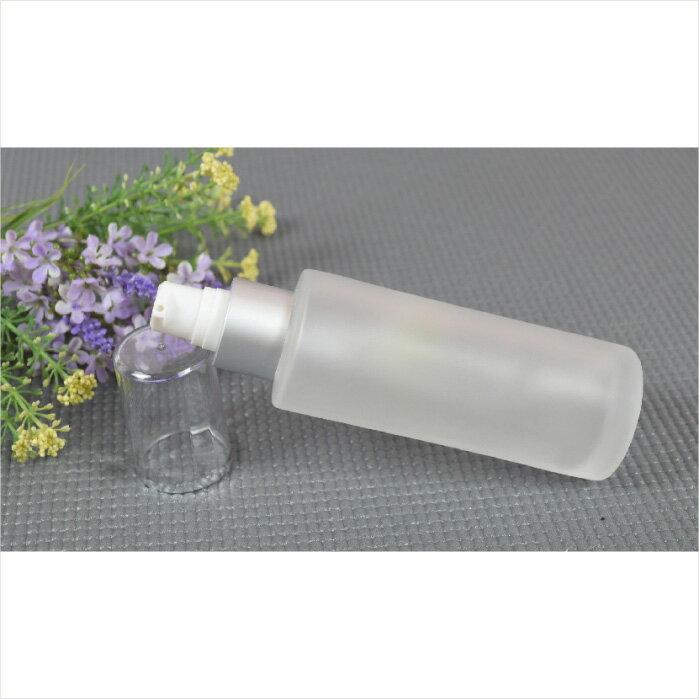 毛玻璃噴瓶.壓瓶-白 30ml [11144] ::WOMAN HOUSE::