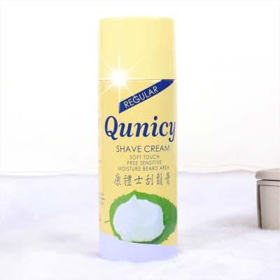 【男士MEN】Qunicy康禮士刮鬍膏-450cc(黃瓶) [12955]另售刮鬍刀