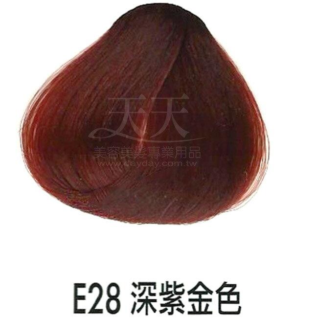 耐婷 亮彩染髮劑 E-28 深紫金色60g [15412] ::WOMAN HOUSE::