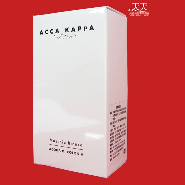 ACCA KAPPA 白麝香香水 50ml [23744] ::WOMAN HOUSE::