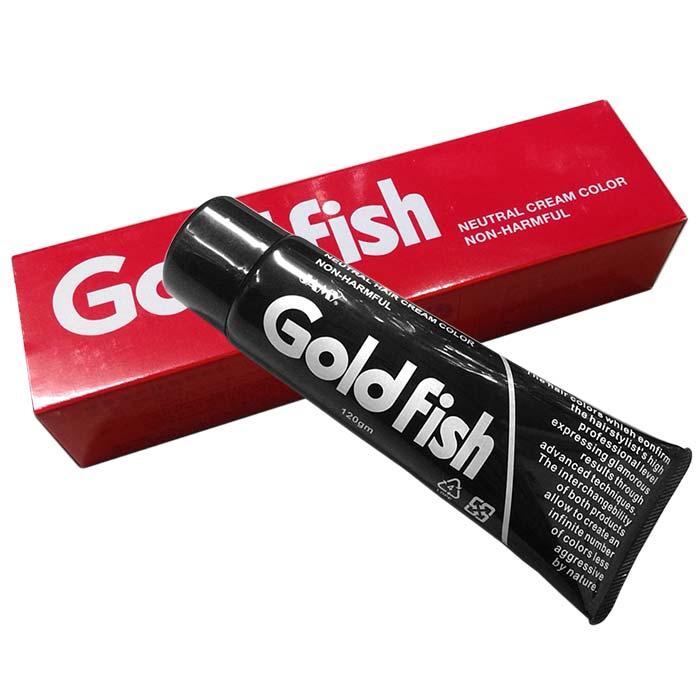 精美 Goldfish金魚護髮染髮劑 120g 505棕黑色 [26377] ::WOMAN HOUSE::