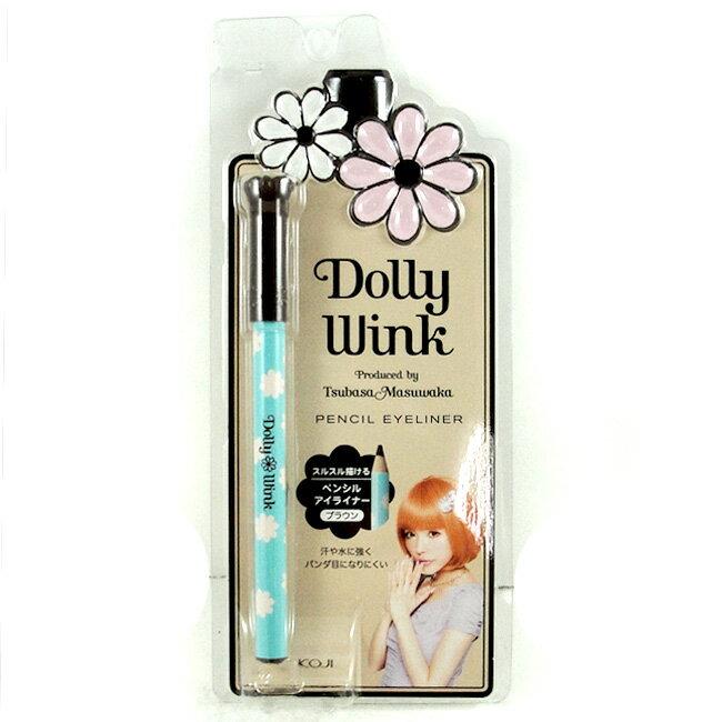 <br/><br/> KOJI DollyWink美型眼線筆 16g 咖啡色 [26383] ::WOMAN HOUSE::<br/><br/>