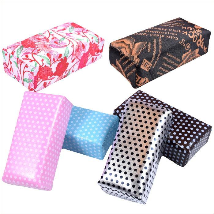 嘉奈兒 布面格紋彩繪專用手枕-短(8色) [42660] ::WOMAN HOUSE:: 光療指甲/水晶粉雕