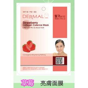韓國DERMAL 草莓抗老化亮膚面膜 1入 [42757] ::WOMAN HOUSE::