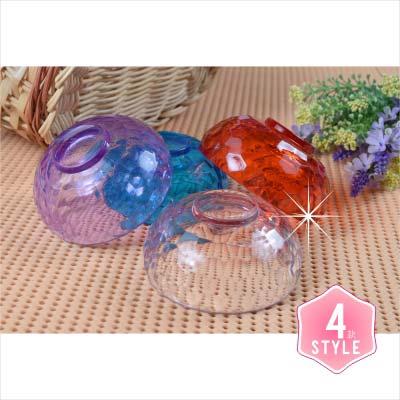 WomanHouse壓克力-4CM水晶碗(4色) [44219] ◇美容美髮美甲新秘專業材料◇