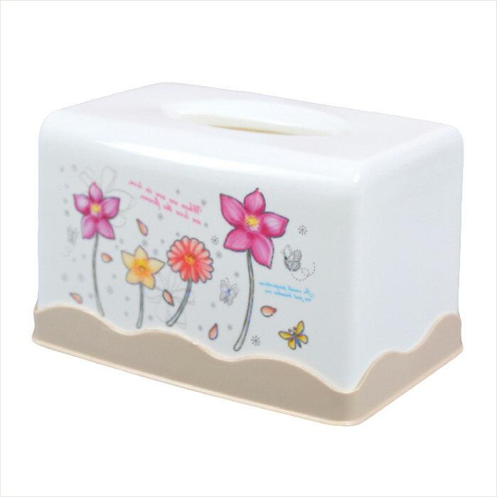 001#方型面紙盒(花朵)12449 [44491] ::WOMAN HOUSE::