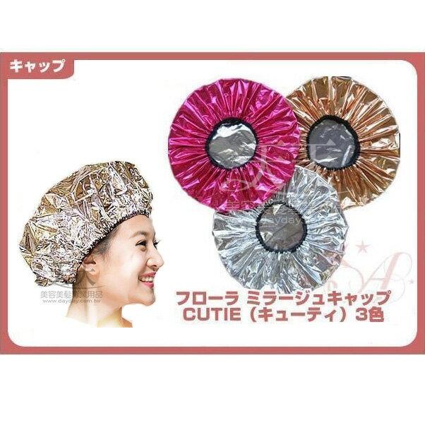 日本 LAUREL 美髮護髮帽-金