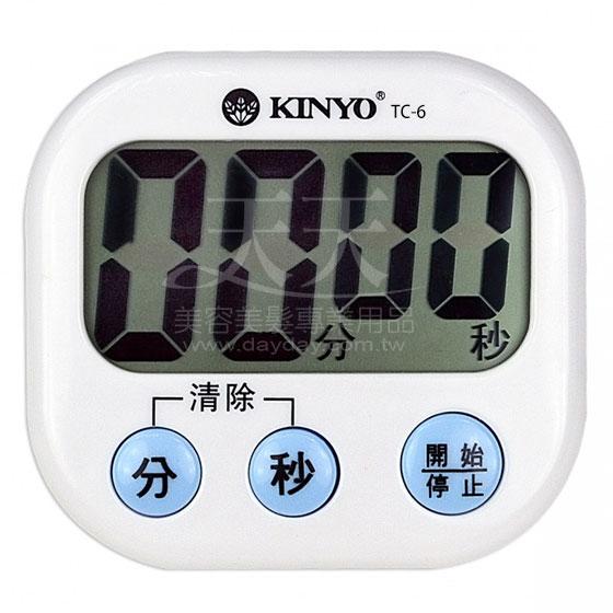 KINYO TC-6電子正倒數計時器 [45005] ::WOMAN HOUSE::