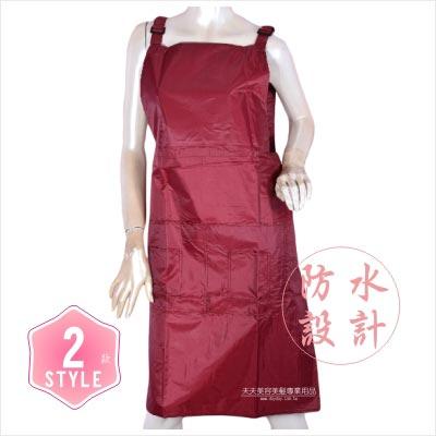 【推薦款】防水多袋工作圍巾-2色 [45865] ◇美容美髮美甲新秘專業材料◇