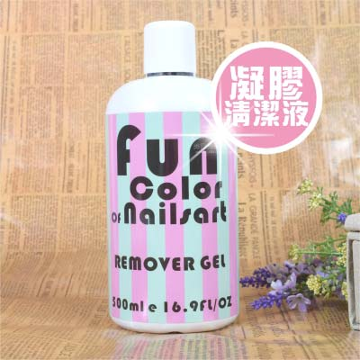 <br/><br/> 【產地美國】NailSart E-0006-1 FunColor凝膠清潔液-500ml [47619]<br/><br/>