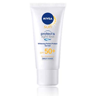 ~SPF50 PA  ~NIVEA妮維雅 水活透白防曬乳液~臉部 身體 40ml ^~48
