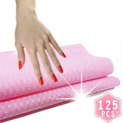 【乾淨衛生】美甲師指甲彩繪個人專屬拋棄式桌巾紙.手枕桌墊(33*46cm)-125張 [48475]