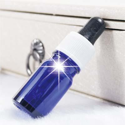 玻璃點滴式空瓶-5cc(藍色) [60870]◇瓶瓶罐罐容器分裝瓶◇