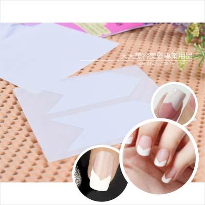 嘉奈兒指甲彩繪法式貼紙-三角形 [61147] ◇美容美髮美甲新秘專業材料◇