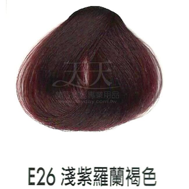 耐婷 亮彩染髮劑 E26-淺紫羅蘭褐色60g [73044] ::WOMAN HOUSE::